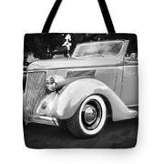 1936 Ford Cabriolet Bw  Tote Bag