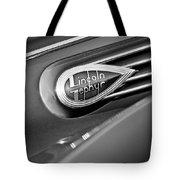 1938 Lincoln Zephyr Convertible Sedan Emblem Tote Bag
