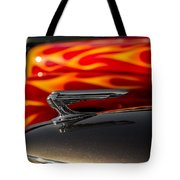 1939 Graham Coupe Hood Ornament Tote Bag by Ron Pate