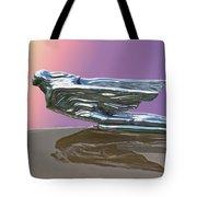 1941 Cadillac Fleetwood Hood Ornament Tote Bag