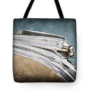1941 Pontiac Hood Ornament Tote Bag