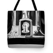 1948 Pontiac Streamliner Woodie Station Wagon Emblem Tote Bag