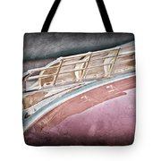 1949 Plymouth Hood Ornament Tote Bag