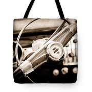1951 Chevrolet Convertible Steering Wheel Tote Bag