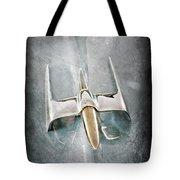 1953 Lincoln Capri Hood Ornament Tote Bag