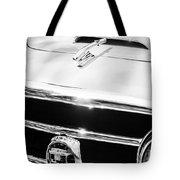 1953 Nash-healey Convertible Grille Emblem Tote Bag