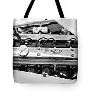 1955 Jaguar Engine Tote Bag