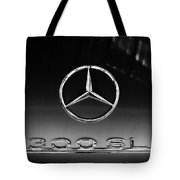 1955 Mercedes-benz Gullwing 300 Sl Emblem Tote Bag