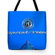 1956 Alfa Romeo Sprint Veloce Coupe Emblem Tote Bag