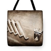 1956 Ford Thunderbird Emblem Tote Bag