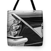 1959 Desoto Adventurer Convertible Tail Light Emblem Tote Bag