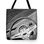 1959 Devin Ss Steering Wheel Tote Bag