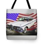 1959 Edsel Ford Ranger Tote Bag