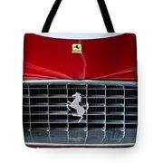 1960 Ferrari 250 Gt Swb Berlinetta Competizione Grille Emblem Tote Bag