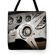 1960 Maserati Steering Wheel Emblem Tote Bag