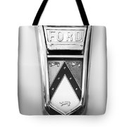 1963 Ford Falcon Futura Convertible  Emblem Tote Bag