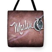 1965 Rambler Marlin Emblem Tote Bag