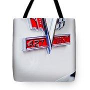 1966 Chevrolet Biscayne Emblem Tote Bag