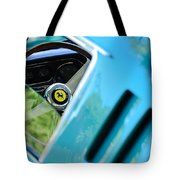 1966 Ferrari 275 Gtb Steering Wheel Emblem Tote Bag