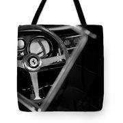 1967 Ferrari 275 Gtb 4 Steering Wheel Emblem Tote Bag by Jill Reger