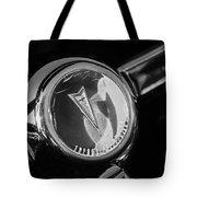 1967 Pontiac Firebird Steering Wheel Emblem Tote Bag