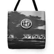 1969 Alfa Romeo Spider Veloce Iniezione Emblem Tote Bag