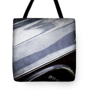 1970 Dodge Challenger Rt Convertible Emblems Tote Bag