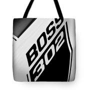 1970 Ford Mustang Boss 302 Emblem Tote Bag