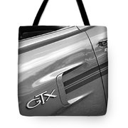 1970 Plymouth Gtx Tote Bag