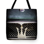1972 Maserati Ghibli Grille - Hood Emblems Tote Bag