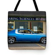 1974 Plymouth Roadrunner Tote Bag