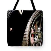 2011 Ferrari 599 Gto Emblem - Wheel Tote Bag