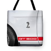 2012 Ford Shelby Mustang Gt500 Painted  Tote Bag
