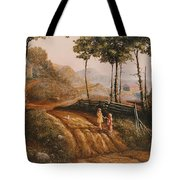 A Country Lane Tote Bag