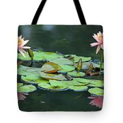 A Day At The Lily Pond Tote Bag