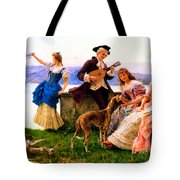 A Days Outing Tote Bag