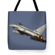 A Eurofighter Typhoon Of The Italian Tote Bag