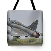 A French Air Force Mirage 2000d Taking Tote Bag