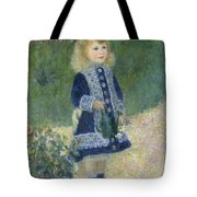 A Girl With A Watering Can Tote Bag