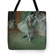 A Group Of Dancers Tote Bag