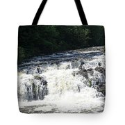 A Lovely View Of A Falls On Kayaderosseras Creek Tote Bag