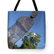 Minujin's A Man Of Mesh Tote Bag