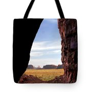 A Monument Valley View Tote Bag