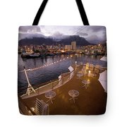 A Night View Of The Victoria And Alfred Tote Bag