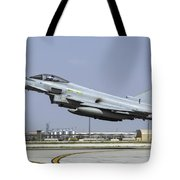 A Royal Air Forcetyphoon Fgr4 Taking Tote Bag