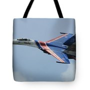 A Sukhoi Su-27 Flanker Of The Russian Tote Bag