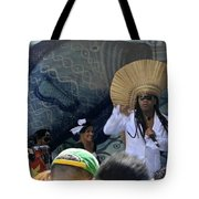A View Of Carlinhos Brown At The 2009 Cleansing Of 46th Street Tote Bag