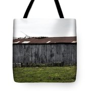 Abandoned Barn Kentucky Usa Tote Bag