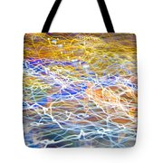 Abstract Background - Citylights At Night Tote Bag