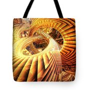 Abstract That Twisted Escher Fx  Tote Bag